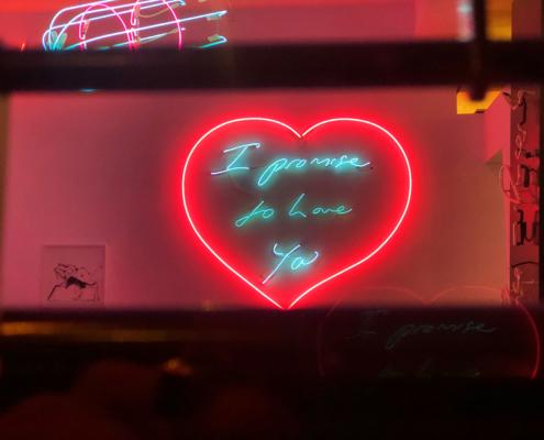 Neon Love Sign Lovable Media