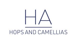 Hops and Camellias Logo